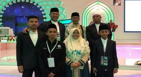 Two Indonesian Qori Win International MTQ Champion in Iran