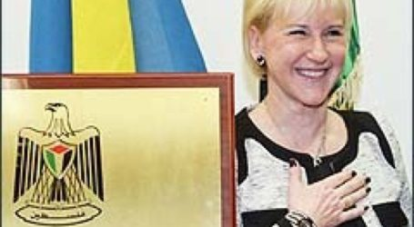 Swedish Foreign Minister Proud to Recognize Palestine