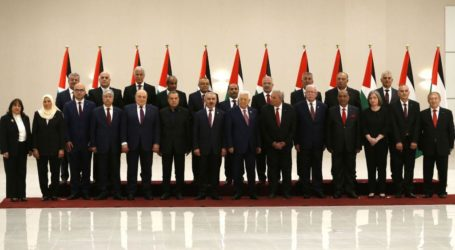 Newly Formed Palestinian Government Cabinet