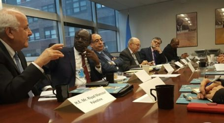 Palestine Leads G-77 Meeting to Discuss International Trade