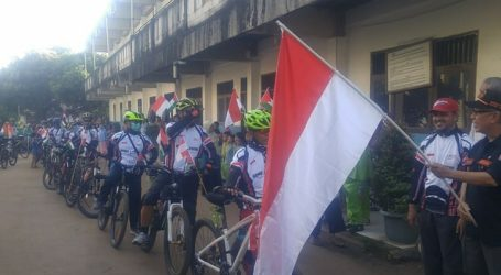 """""""Gowes to Al-Aqsa"""" Depart from Al-Fatah, Bogor to Lampung Province"""