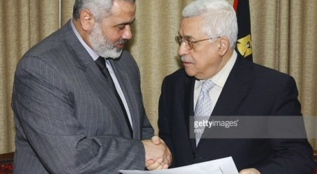 Abbas Welcomes Ismail Haniyeh's Letter