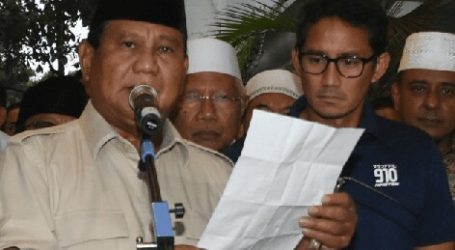 """Prabowo Responds to May 22 Action, """"Avoid Violence"""""""