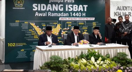 Indonesian Government Sets 1 Ramadhan 1440 H Fall on May 6