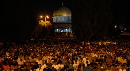 400.000 Worshipers Attend 27th Night of Ramadan at Aqsa