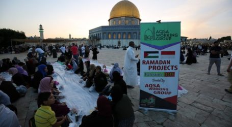 AWG Distributes 250 Iftar Packages at Al-Aqsa Mosque