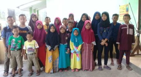 Indonesians in US Become Foster Parents of Orphans in Lampung