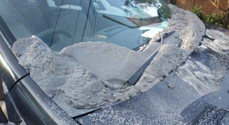 Eruption of Tangkuban Perahu Mountain, Ashes Reaches 200 Meters