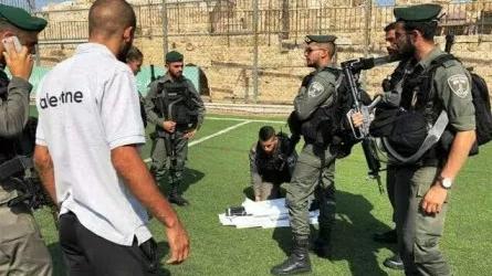 Israeli Forces Raid on Football Stadium in Jerusalem