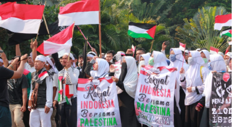 Hundreds of Mass Participate in Peace Action of Al Aqsa Solidarity
