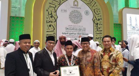 Indonesian Qori Won 2nd Runner Up in International MTQ at Makkah