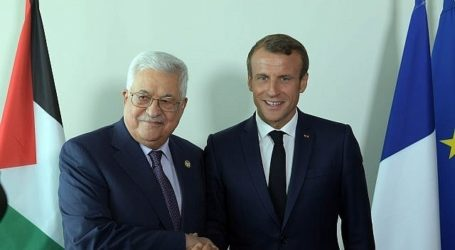 Abbas-Macron Meet on Sidelines of UN General Assembly