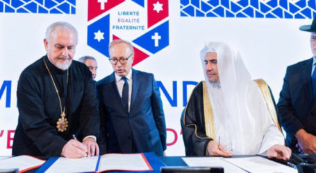 Paris Conference Exhorts Religious Leaders to Challenge Ideologiest that Threaten Peace