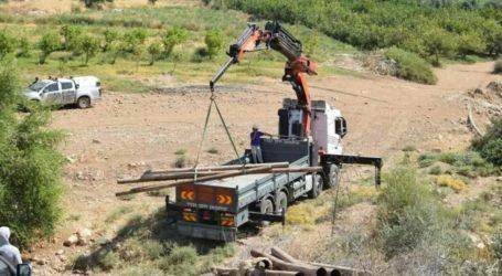 Israel Cuts off Palestinian Water Supplies in Jordan Valley