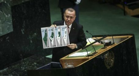 Erdogan Questiones Israel's Borders