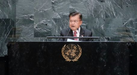 Addressing at UNGA, Indonesian VP Calls Support for Palestine