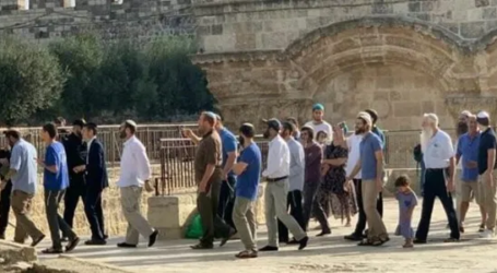 The Number of Jews Entering Aqsa Mosque Increases 60 Percent