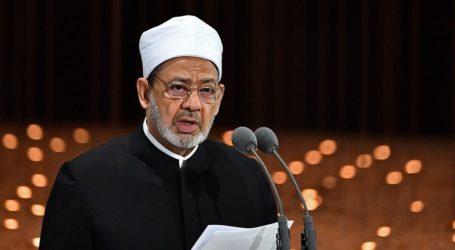 Egypt's Al-Azhar Condemns US Decision on Israeli Settlements