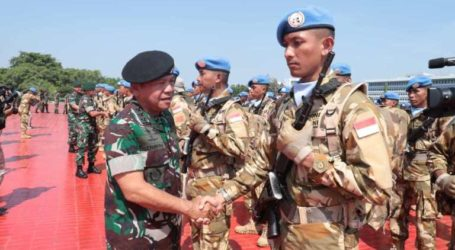 Indonesia Sends 850 Soldiers to UN Mission in Congo