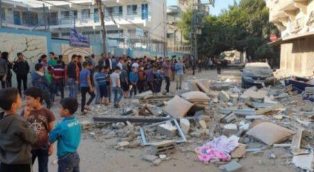 Israeli Attacks Kill 6 Palestinian Students, Damage 15 Schools