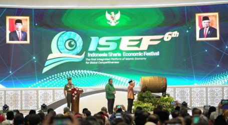 VP Amin Officially Opens Indonesian Sharia Economic Festival