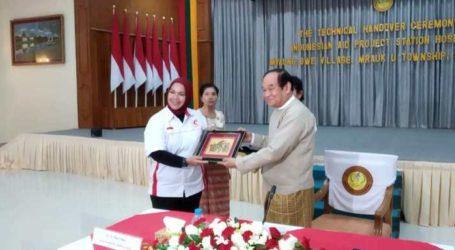 MER-C Hands over Indonesian Hospital in Rakhine to Local Govt