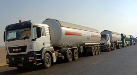 As One Hundred Tons of Gas Enter Gaza