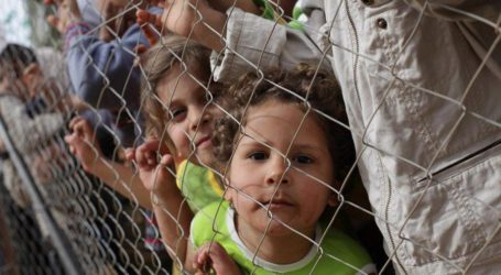 Palestinians Protest the Replace of 60 Detainees Children to Damoun Prison