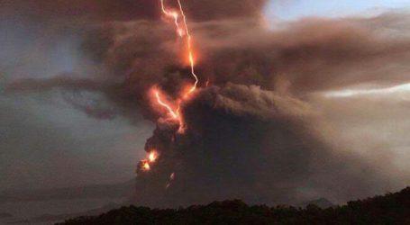 Mount Taal Vulcano in Philippines Erupts
