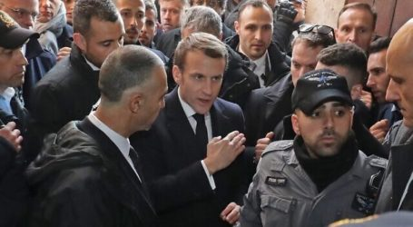 French President Concerns Israel's Security Measures in Jerusalem Church