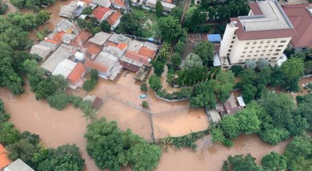 As Nine People Died Due to Floodwaters in Jakarta