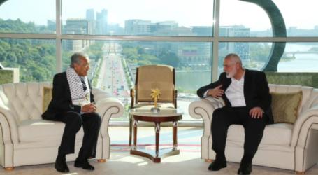 Hamas Leader Meets Mahathir in Putrajaya