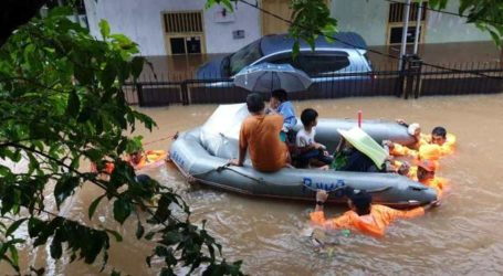 Death Toll of Greater Jakarta Floodwaters Reaches to 16 People