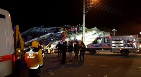 Death Toll of Turkey's Earthquake Up to 38 People