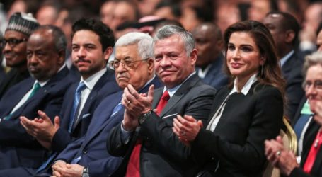 """King of Jordan Confirms """"Firm"""" Stance on Palestine Cause"""