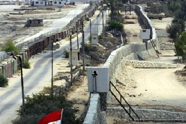 Egypt Starts Building Concrete Wall Along its Border With Gaza