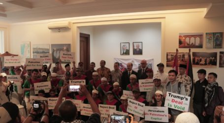 Indonesian Together with Palestinian Embassy Rejects Agreement The Deal of Century