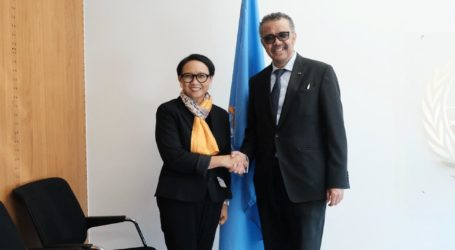 Indonesia-WHO Discusses Development of Handling COVID 19