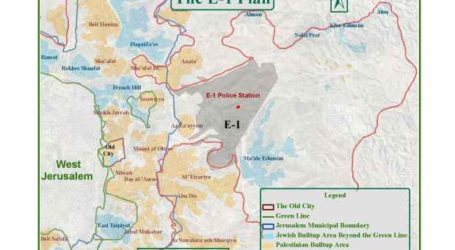 PLO Urges EU to Prevent Israeli Plan to Build Settlement in E1 Area