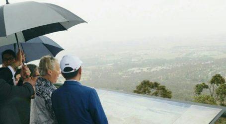 President Jokowi Visits Mount Ainslie, Canberra