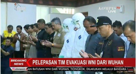 Indonesian Evacuation Team Departed to Wuhan, China