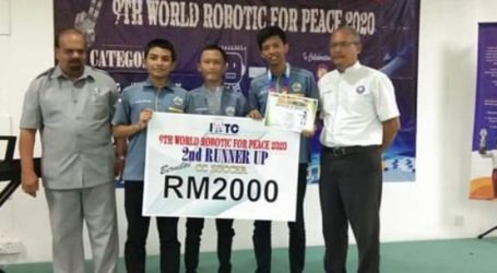 Indonesian Students Win World Robotic For Peace 2020