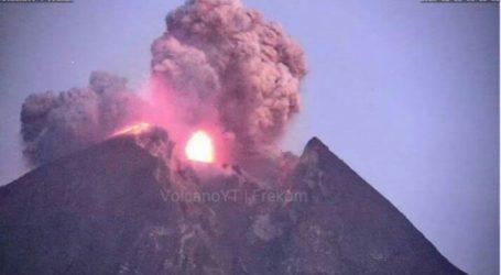 Merapi Mount Erupts 6000 Meters High of Volcanic Ash
