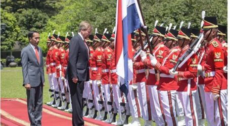 President Jokowi Receives Dutch King and Queen at Bogor Palace