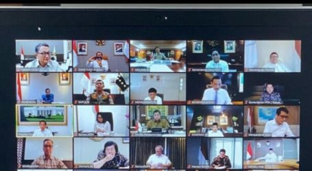 Indonesian Government Hold Online Meeting