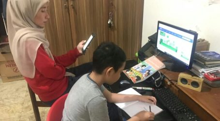 """""""Learning from Home"""" Program Broadcasts on Indonesian National TV"""
