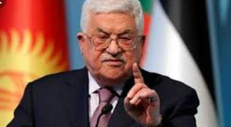 Abbas Warns US and Israel on West Bank Annexation