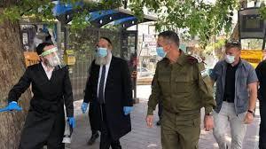 Quarantine, Jewish Settlers Run and Steal Military Equipments