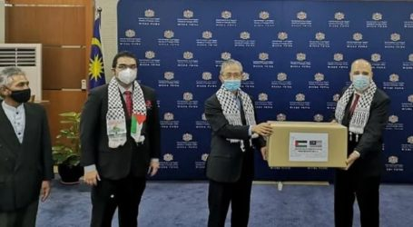 Palestinian Embassy Thanks to Malaysia for Medical Assistance