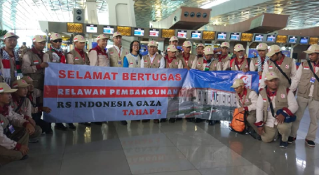 Wife of A Volunteer Construction Indonesian Hospital in Gaza Passed Away